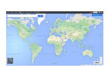 Google Maps voorzien van nieuwe vormgeving