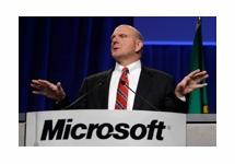CEO Steve Ballmer eerder weg bij Microsoft