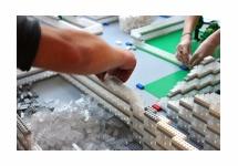 HKU-studenten bouwen Prinses Máxima Centrum na met 23.000 Q-Bricks bouwstenen