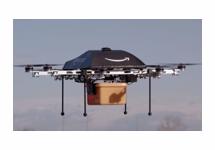 Amazon wil bestellingen per drone bezorgen