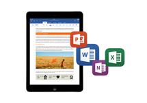 Stormloop op Office for iPad