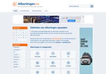 Website Afkortingen.nu geopend