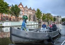Google Street View in Amsterdamse grachten