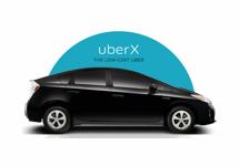Uber start budgetoptie Uber X in Amsterdam