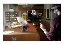 Microsoft presenteert holografische bril Hololens