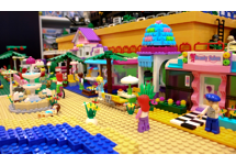 Display in winkelruimte ToyBricks.nl vernieuwd