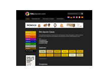RALkleuren.com verkoopt nu eigen kleurenwaaiers